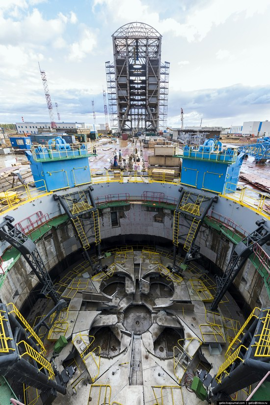 Construction of cosmodrome Vostochny, Russia, photo 16