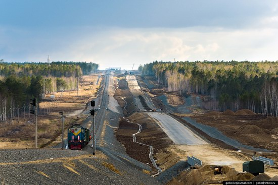Construction of cosmodrome Vostochny, Russia, photo 2