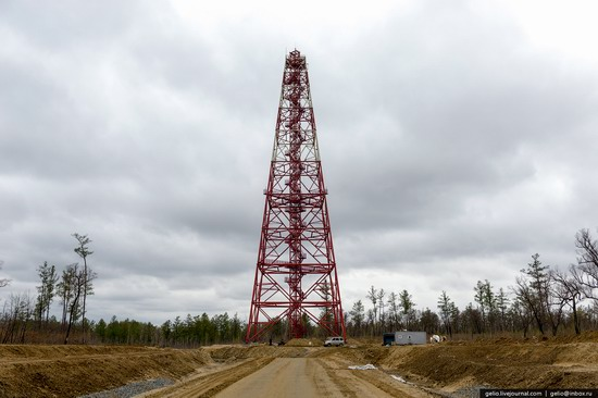 Construction of cosmodrome Vostochny, Russia, photo 21