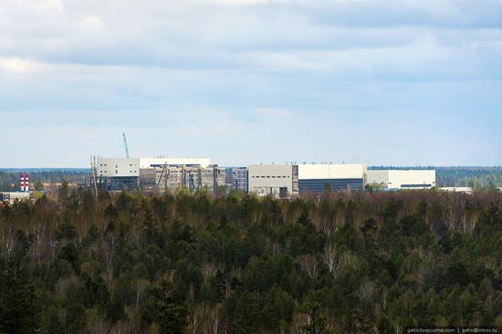 Construction of cosmodrome Vostochny, Russia, photo 3