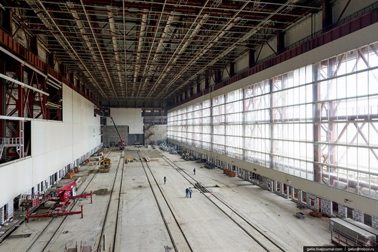 Construction of cosmodrome Vostochny, Russia, photo 5