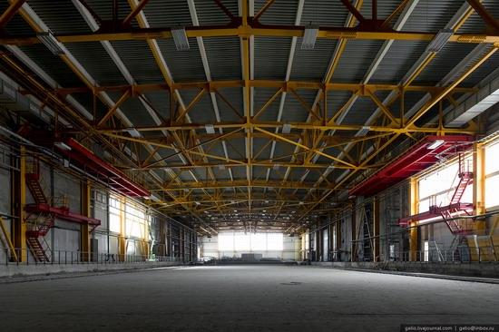Construction of cosmodrome Vostochny, Russia, photo 6