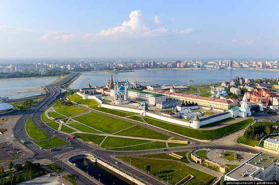 Kazan city sights, Russia, photo 1