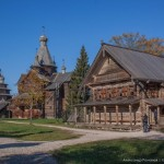 "The Museum of Folk Wooden Architecture ""Vitoslavlitsy"""