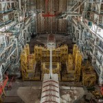 "Two abandoned spaceships of ""Energy-Buran"" project"