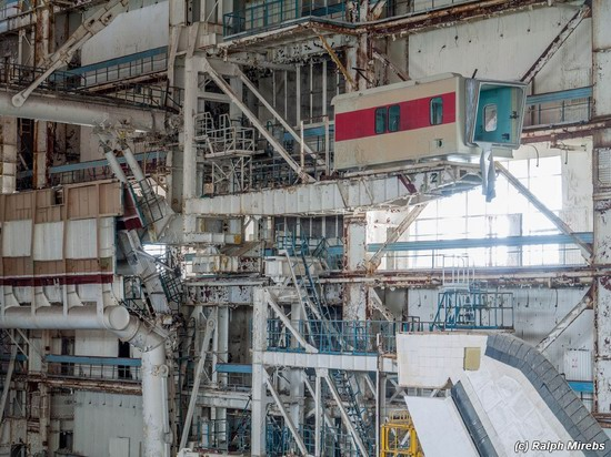 Abandoned spaceships Energy-Buran, Baikonur cosmodrome, photo 10