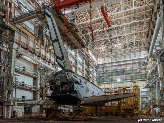 Abandoned spaceships Energy-Buran, Baikonur cosmodrome, photo 19