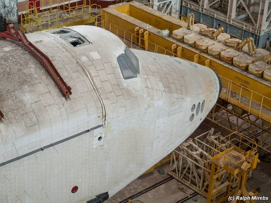 Abandoned spaceships Energy-Buran, Baikonur cosmodrome, photo 23