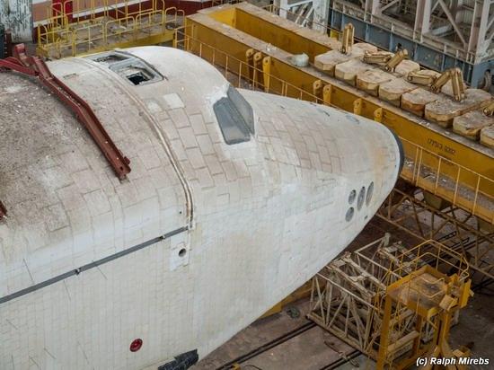 Abandoned spaceships Energy-Buran, Baikonur cosmodrome, photo 23
