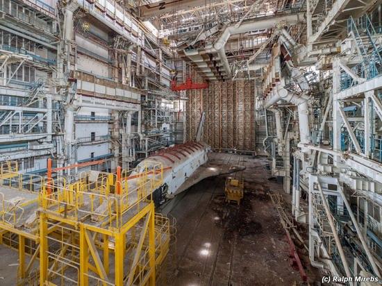 Abandoned spaceships Energy-Buran, Baikonur cosmodrome, photo 28