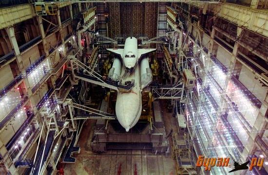 Spaceship Energy-Buran, Baikonur cosmodrome