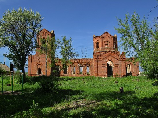 Architectural and historical sites, Lipetsk region, Russia, photo 12