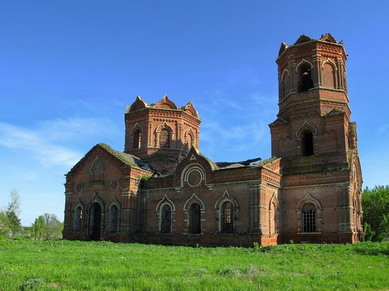 Architectural and historical sites, Lipetsk region, Russia, photo 21