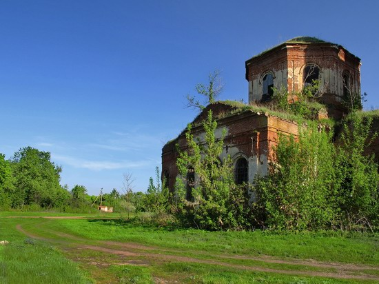 Architectural and historical sites, Lipetsk region, Russia, photo 23
