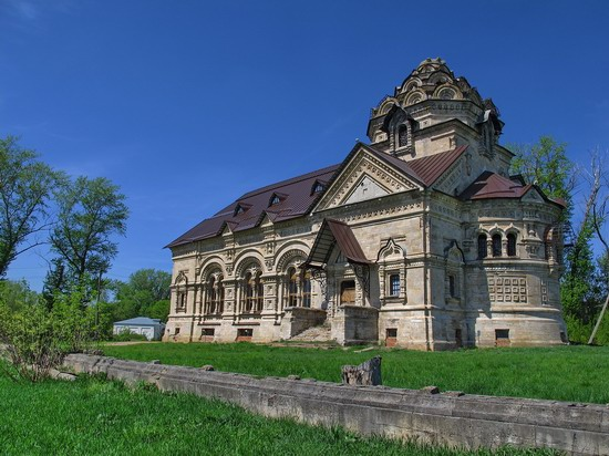 Architectural and historical sites, Lipetsk region, Russia, photo 9