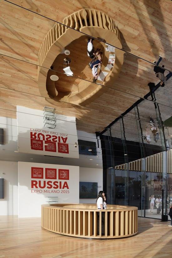 The Russian pavilion, Expo Milano 2015, photo 5