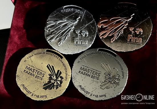 FINA World Championships 2015 medals, Kazan, Russia, photo 2