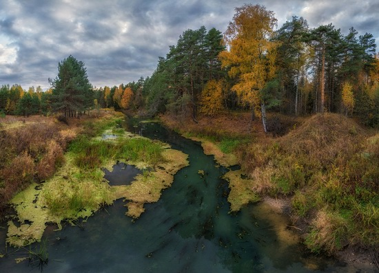 Yaroslavl region nature, central Russia, photo 12