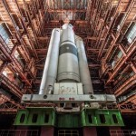 "The space launch vehicle ""Energy-M"" and its last home"