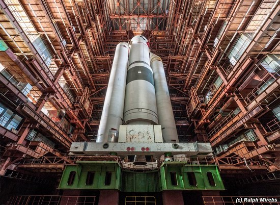 The space launch vehicle Energy-M, Baikonur, Russia, photo 1