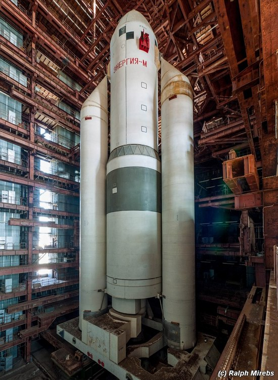 The space launch vehicle Energy-M, Baikonur, Russia, photo 10
