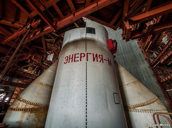 The space launch vehicle Energy-M, Baikonur, Russia, photo 4