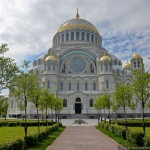 Kronstadt Naval Cathedral in St. Petersburg