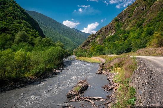 Mountainous Chechnya sights, Russia, photo 10