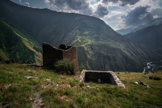 Mountainous Chechnya sights, Russia, photo 13