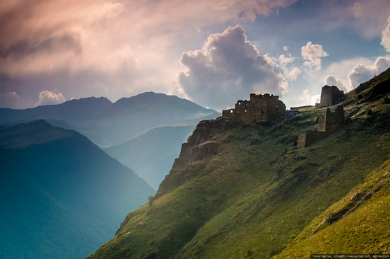 Mountainous Chechnya sights, Russia, photo 16