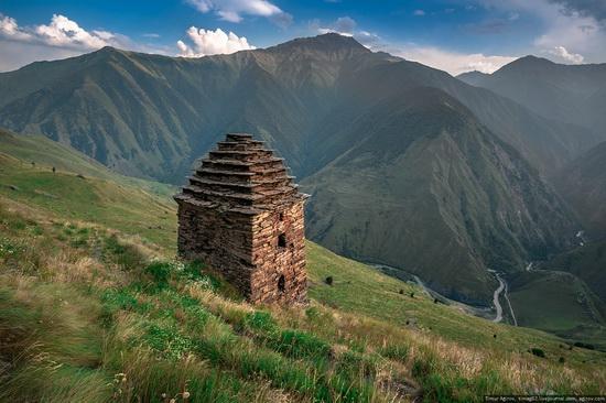 Mountainous Chechnya sights, Russia, photo 17