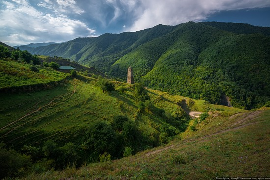 Mountainous Chechnya sights, Russia, photo 18