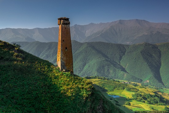 Mountainous Chechnya sights, Russia, photo 23