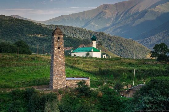 Mountainous Chechnya sights, Russia, photo 4