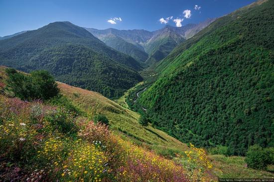 Mountainous Chechnya sights, Russia, photo 7