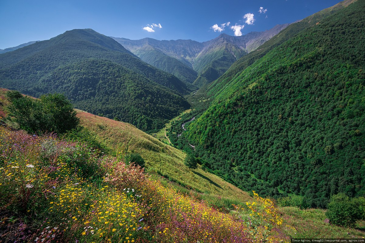 Historical And Natural Monuments Of Mountainous Chechnya