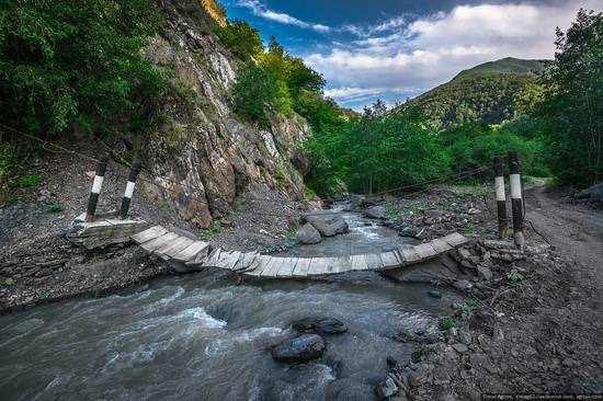Mountainous Chechnya sights, Russia, photo 8