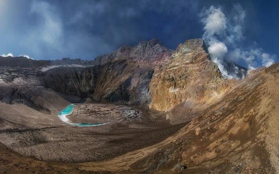 Mutnovsky volcano, Kamchatka, Russia, photo 1