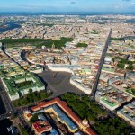 St. Petersburg from above. Part 1