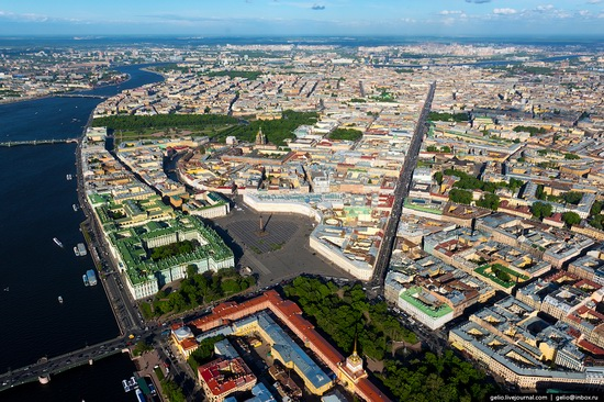 Saint Petersburg, Russia from above, photo 1