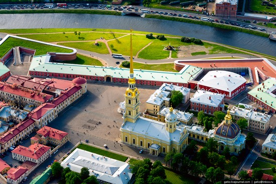 Saint Petersburg, Russia from above, photo 10