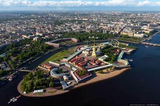 Saint Petersburg, Russia from above, photo 12
