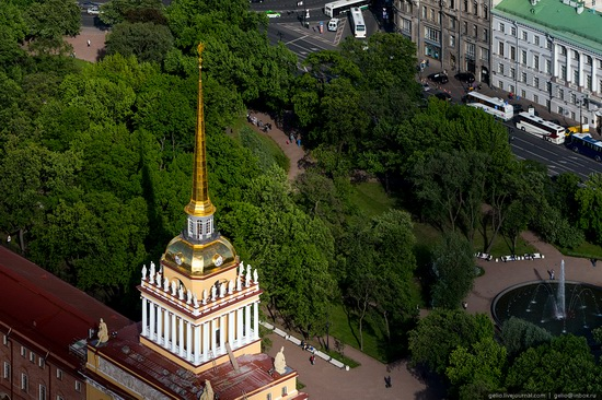 Saint Petersburg, Russia from above, photo 13