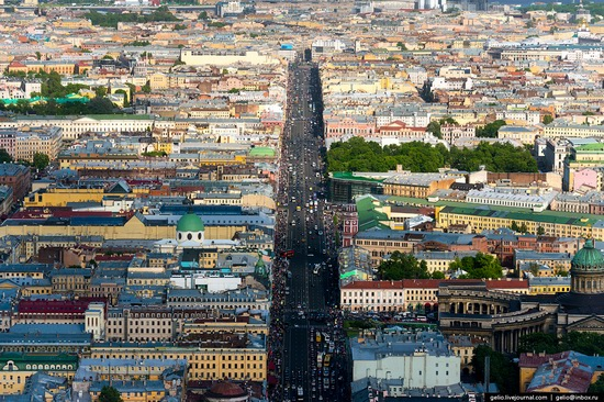 Saint Petersburg, Russia from above, photo 14