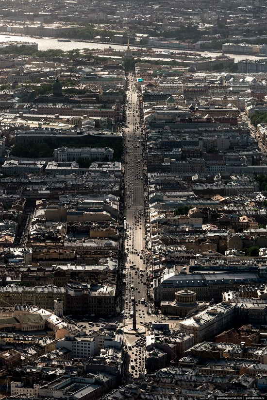 Saint Petersburg, Russia from above, photo 15