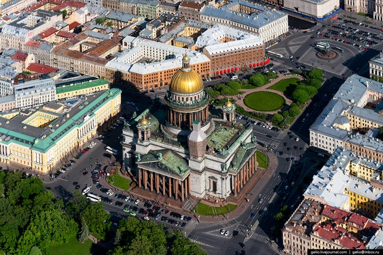 Saint Petersburg, Russia from above, photo 17
