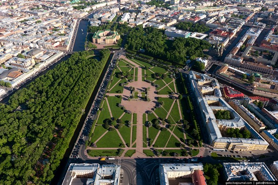 Saint Petersburg, Russia from above, photo 18