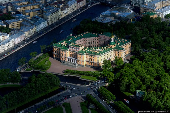 Saint Petersburg, Russia from above, photo 19