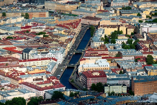 Saint Petersburg, Russia from above, photo 20