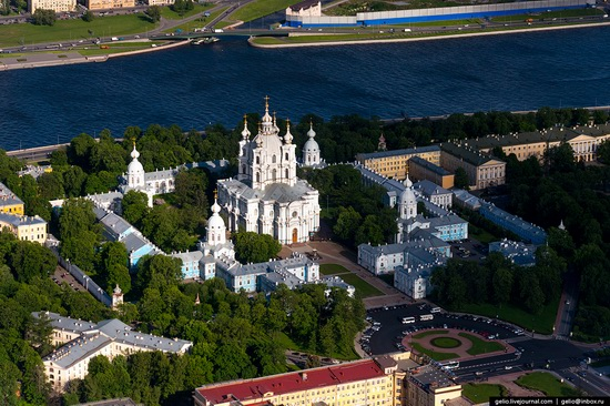 Saint Petersburg, Russia from above, photo 23
